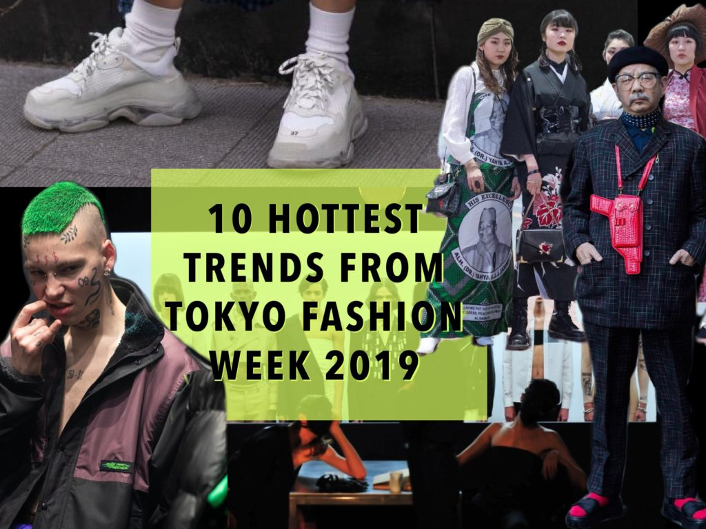 10 hottest trends from Tokyo Fashion Week 2019 - Watashi Store